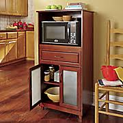 haley microwave stand with hutch from montgomery ward sw451435