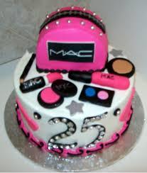 i ve got a 25th birthday mac cake ing