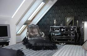 chambre et noir baroque chambre style baroque noir blanc luxe chambre style baroque noir