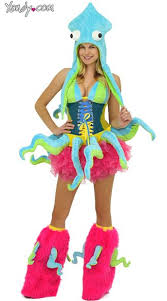 Halloween Octopus Costume 41 Sea Images Costumes Mermaid