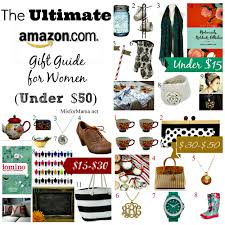 the ultimate amazon gift guide for women under 50 m is for mama
