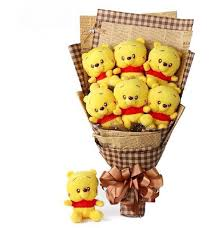 winnie the pooh valentines day home accessory disney winnie the pooh valentines day bouquets