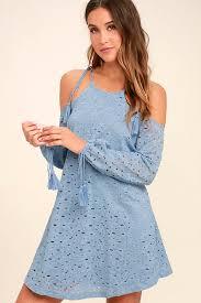 cute light blue dress lace dress off the shoulder dress