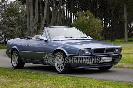 1987 maserati zagato sold maserati bi turbo spyder auctions lot 43 shannons