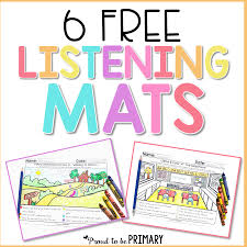 printable instructions classroom teaching listening skills in the classroom proud to be primary