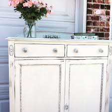 Painting Black Furniture White by Shabby Chic Cabinet In Antique White Milk Paint General Finishes