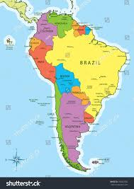 World Map With Countries And Capitals maps of the americas and south america map countries and capitals