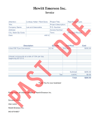 10 best images of collection of past due invoices past due
