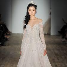 wedding dress the shoulder wedding dresses martha stewart weddings