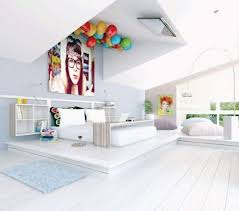 chambre fille blanche design interieur chambre ado fille blanche claires ballons