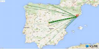Catalonia Spain Map by Bewiser Connect Portal Catalonia Cluster Mapping