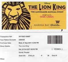 lion king template a lion king of a weekend in singapore u2013hakuna matata arleneanddennis