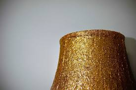 diy glitter lamp shade stars for streetlights