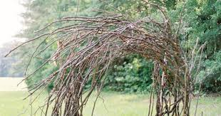 wedding arches branches branch twig wedding arch once wed