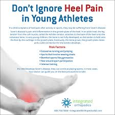 heel pain in young athletes could be sever u0027s disease here u0027s what