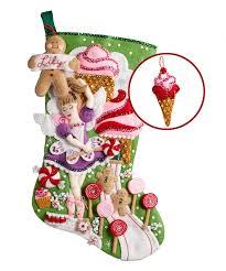 bucilla christmas sugarland fairy bucilla christmas kit