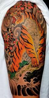 tatouage japon signification tigre fu tatouages japonais