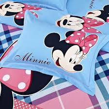 Minnie Mouse Twin Comforter Sets Disney Baby Toddler S Minnie Mouse Bedding Set Toddler