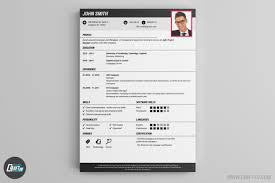 contemporary resume header and footer resume builder creative resume templates craftcv