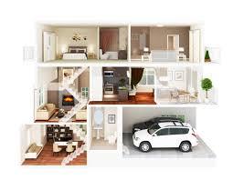 3d apartment design lovely floor plan rendering 4 3d apartment floor plans 1280 x 995