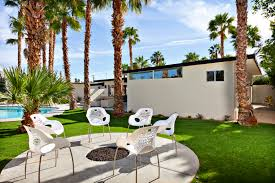 Palm Springs Outdoor Furniture by Mid Century Fire Pit Ika Midcentmod Mid Century Palm Springs