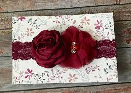 burgundy headband maroon headband maroon baby headband burgundy headband fall headband