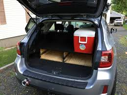 modded subaru outback everyone likes to have some storage the most common for