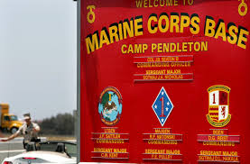 15 marines taken to hospital after vehicle fire at camp pendleton