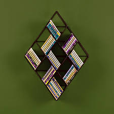 wall mount cd rack