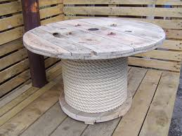 top 20 d i y cool cable spool coffee table hack ideas