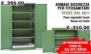 armadietti di sicurezza armadi sicurezza per fitofarmaci prezzi