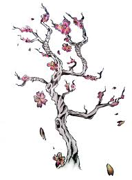 cherry tree clipart small pencil and in color cherry tree