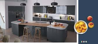 Kitchen Collection Uk Vivo Gloss Anthracite Kitchens On Trend Kitchen Collection