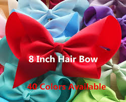 large hair bows aliexpress buy 8 inch large hair bow with large