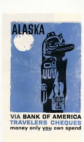 Alaska Travellers Cheques images Retro ad of the week alaska bank of america 1959 jpg