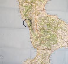 Calabria Italy Map by Calabria Png