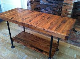 kitchen block island kitchen rustic butcher block island with black painted metal legs