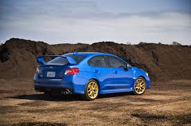 subaru wrx twin turbo 2015 subaru wrx sti launch edition arrival motor trend