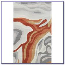 Orange Bathroom Rugs by Burnt Orange Rug Nz Alm326 Alma Chandra Area Rug Carrington