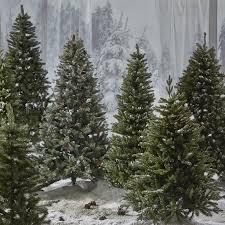 buy john lewis the basics festive fir christmas tree 6ft john lewis