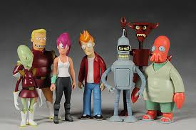 futurama bender and robot devil action figures another pop
