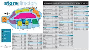 Map Of Premium Outlets Orlando by Venues Vip Dine 4less Card