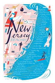 New Jersey best travel books images 498 best the best illustrated maps images jpg