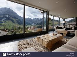 hotel winter garden with mountain panorama adelboden canton of