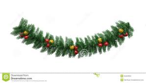 Garland by Christmas Garland Decoration Stock Image Image 35294651