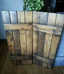 Rustic Wood Interior Walls 48 Rustic Wood Shutters Primitive Shutters Decorative Shutters