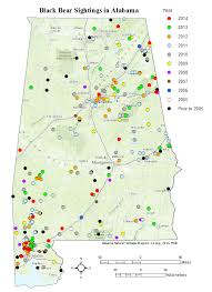 Counties In Alabama By Size Black Sightings In Alabama Are On The Rise But Is The