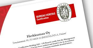 logo bureau veritas certification quality certification for herkkumaa s mayonnaises and sauces