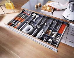 Modern Kitchen Cabinets With Drawer Dividers Using Drawer - Kitchen cabinet drawer dividers
