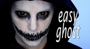 easy ghosts halloween makeup tutorial silvia quiros youtube
